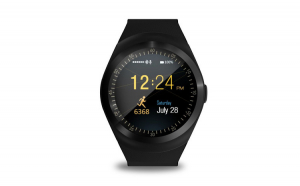 Smartwatch Aipker V9, black, model 2017,cartela SIM,camera,notificari facebook,whatsApp,bratara silicon