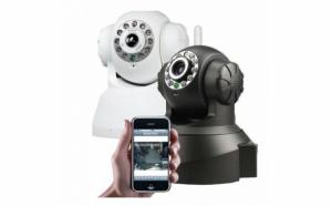 Camera de supraveghere IP/Network si WI-FI cu control de pe telefon si PC WiFi 360