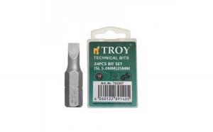 Set de biti drepti Troy T22207, SL5, 25