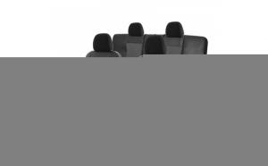 Set Huse scaune auto Dacia Duster I 2010--2017  Exclusive Leather Lux