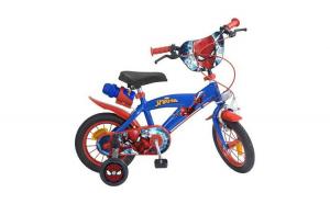 """Bicicleta Spiderman Sting 12"""" Albastru"""
