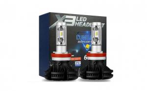 Kit led cree auto X3 H11