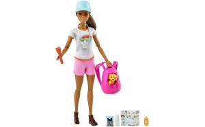 Papusa Barbie cu figurina si accesorii
