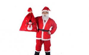 Costum de Mos Craciun la doar 35 RON in loc de 70 RON