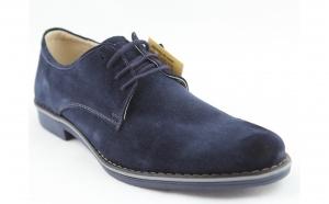 Pantofi barbati din piele intoarsa naturala negri, maro, bleumarin