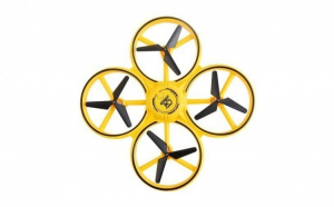 Drona elicopter, control prin gesturi