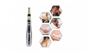 Vindecare prin masaj de tip acupunctura: aparat cu 2 capete, fara intepaturi, la 79 RON de la 159 RON