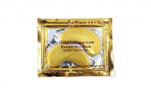 Masca Gold, pentru ochi, cu efect de hidratare, indepartarea semnelor de oboseala, netezirea ridurilor, reducerea pungilor de sub ochi si a umflaturilor, Lanthome, 2 bucati