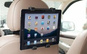 """Suport auto tableta 7-10 """" - pentru tetiera, cu rotire 360°"""