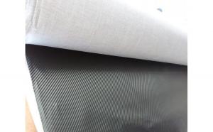 Material textil carbon 3D neagru (se coase)