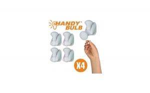 Set 4 becuri portabile Handy Bulb la doar 49 RON