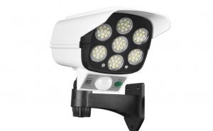 Camera falsa cu panou solar, 77 LED, senzor de miscare, JD 2178T + telecomanda