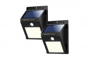 Lampa cu led, incarcare solara si sensor de miscare, set 2 bucati, ZN0016