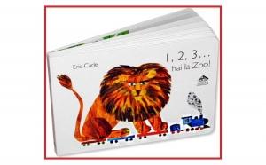 1,2,3... hai la Zoo, autor Eric Carle