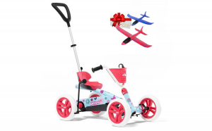 Kart Berg Buzzy Bloom 2in1 + Cadou avion pasare