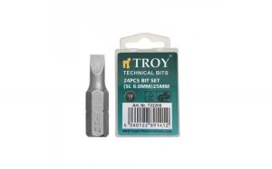 Set de biti drepti Troy T22208, SL6, 25