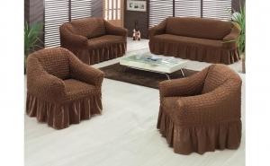 Huse pentru canapea, calitate premium, 3-2-1-1