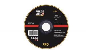 Disc pentru taiere inox ForgeSteel,