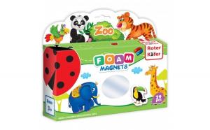 Joc educativ Lumea in Magneti - Gradina Zoologica Roter Kafer RK2101-02 Initiala