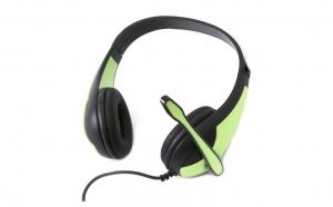 Casti cu microfon Freestyle FH4008G, verde, la doar 49.9 RON in loc de 119.9 RON