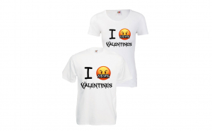 set tricouri cuplu Valentine's Day, Ziua indragostitilor, Voi doi