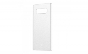 Husa Baseus Wing, Ultra thin lightweight, pentru Samsung Galaxy Note 8 G950, Alb transparent