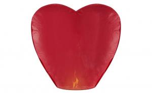 Lampion zburator in forma de inima, Ziua indragostitilor, Voi doi
