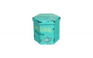 Taburet pliabil cu spatiu de depozitare Tea Heinner