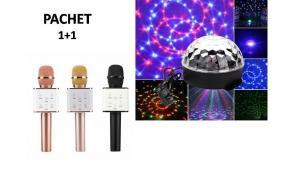 Pachet Disco - Glob Disco + Microfon Bluetooth