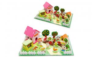 Joc Montessori 3D - Ferma Vesela