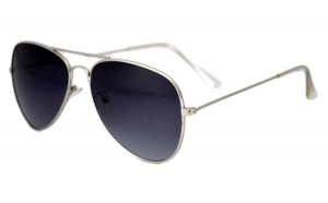 Ochelari de soare Aviator  - Bleumarin - Argintiu