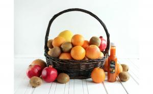 C Proaspăt, pachet fructe si sirop