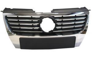 grila radiator crom VW Passat 2005-2010