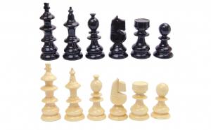 Set piese sah, 32 piese ( 16 negre si 16 albe)