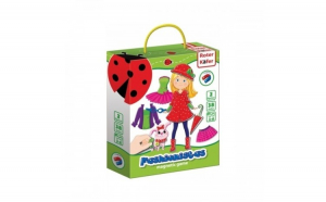 Joc educativ magnetic Fashionista Roter