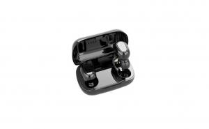Casti bluetooth L21 TWS,bluetooth 5.0,control tactil,350mAh,impermeabile,microfon inclus,functie de reducere a zgomotului exterior