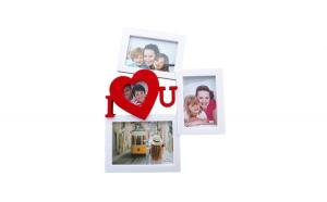 Rama foto colaj 3 poze, I Love You, 459G