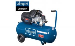 Compresor cu doi cilindrii 100 Litri  HC100DC   Scheppach 5906120901
