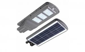 Proiector cu panou solar 60W, senzor miscare si lumina