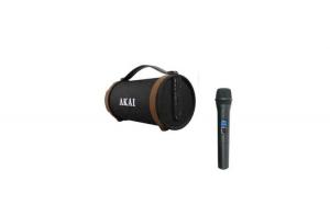 Boxa  portabila Bluetooth, Akai, Difuzor cu 4 inch Subwoofer, ABTS22
