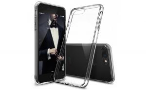 Husa Ringke Fusion PC cu TPU Bumper pentru iPhone 8 Plus   7 Plus transparent (FSAP0005 RPKG)