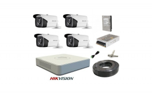 Kit sistem supraveghere complet FULL HD