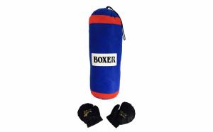 Sac de box Boxer cu manusi