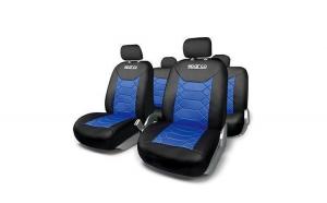 Huse Scaune Auto Sparco Sport albastru