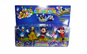 Set 5 figurine Clubul lui Mickey Mouse