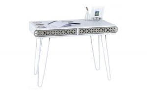 Masa tip birou, 96 x 51 x 75 cm, alb, Quasar&Co.