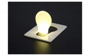 Lumina de buzunar sub forma de card, Produse Revolutionare