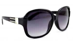 Ochelari de soare rotunzi 7 Bleumarin - Negru