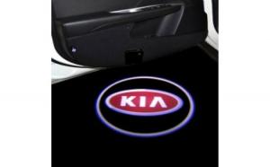 Proiectoare Portiere cu Logo KIA -