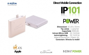Baterie externa E-Boda pentru iphone, E-BODA